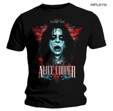 Official Metal T Shirt Alice Cooper  Paranormal DECAP Head All Sizes