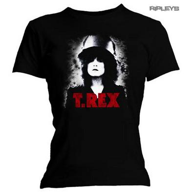 Official Ladies Skinny T Shirt T REX Glam 'SLIDER' Album Marc Bolan All Sizes