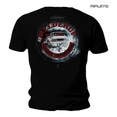 Official WELDERUP Garage Custom Car T Shirt 'Charger' American Muscle Rat Rod