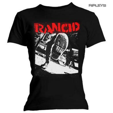 Official Ladies T Shirt Punk RANCID ...And Out Come The Wolves 'Boot' All Sizes