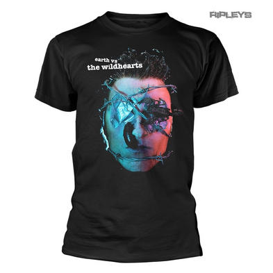 Official T Shirt THE WILDHEARTS Album Cover 'Earth Vs The Wildhearts' All Sizes
