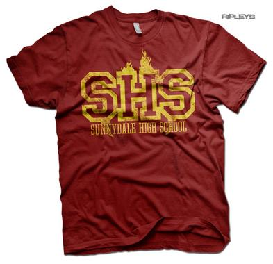 Official T Shirt Buffy The Vampire Slayer SUNNYDALE High School Uniform All Size