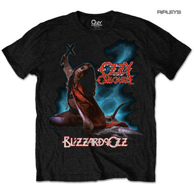 Official T Shirt OZZY Osbourne Black Sabbath 'Blizzard Of Ozz' Album All Sizes