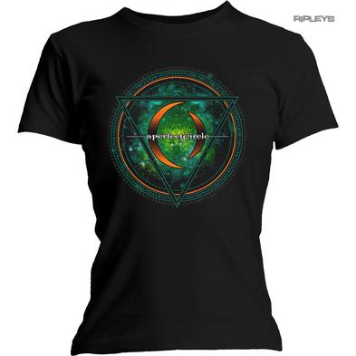 Official Ladies Skinny T Shirt A PERFECT CIRCLE Black 'Sigil' Logo All Sizes