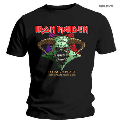 Official T Shirt IRON MAIDEN European Tour 18 LOTB Legacy Of The Beast All Sizes