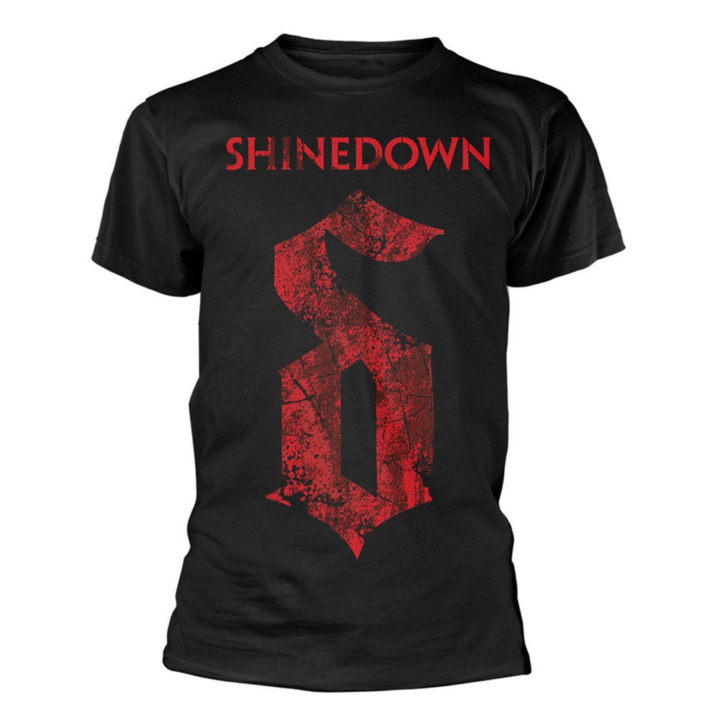 Official-T-Shirt-SHINEDOWN-Attention-Attention-039-The-Voices-039-Logo-All-Sizes thumbnail 3