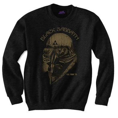 Official Metal Pullover Sweatshirt SWEATER Black Sabbath US Tour '78