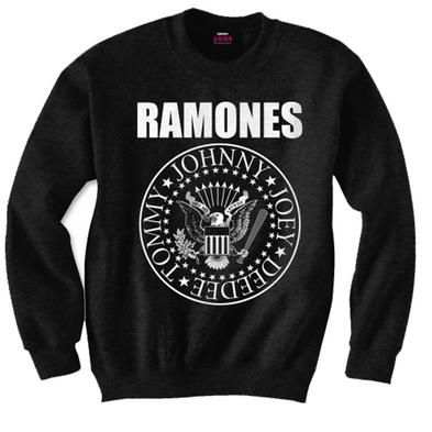 Official Metal Pullover Sweatshirt SWEATER The Ramones Punk Seal Logo