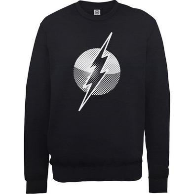 Official Pullover Sweatshirt DC Comics SWEATER Flash 'Classic Logo' All Sizes
