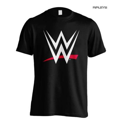 Official T Shirt World Wrestling Entertainment WWE 'Classic Logo' All Sizes