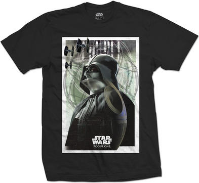 Official Unisex T Shirt STAR WARS Darth Vader Prime FORCES 01 Poster Preview