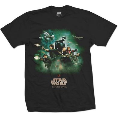 Official Unisex T Shirt STAR WARS Rogue One POSTER Movie Preview