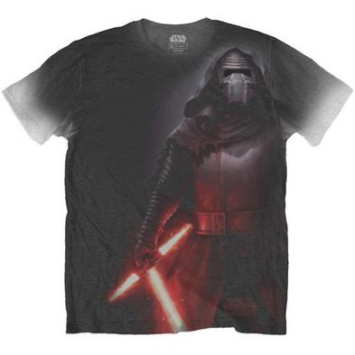 Official T Shirt STAR WARS Sublimation KYLO All Over Print