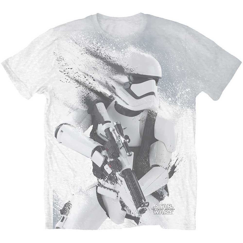 Official T Shirt Star Wars Sublimation Storm Trooper All Over Print