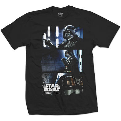 Official Unisex T Shirt STAR WARS Darth Vader 'Triptych' Comic Strip