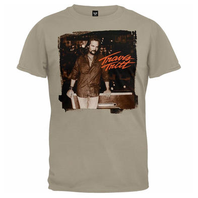 Official Unisex Beige T Shirt Country TRAVIS TRITT Vintage Photo All Sizes Preview