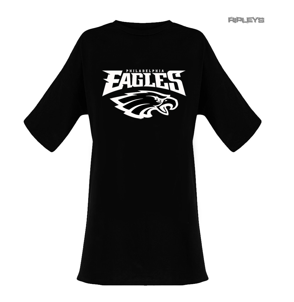 new style 3d2cb f500b Details about Official Ladies T Shirt Oversized DRESS Philadelphia Eagles  American Football