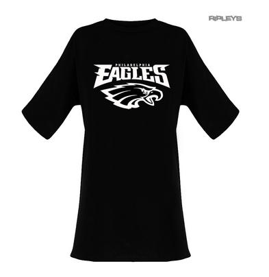 Official Ladies T Shirt Oversized Philadelphia Eagles American Football