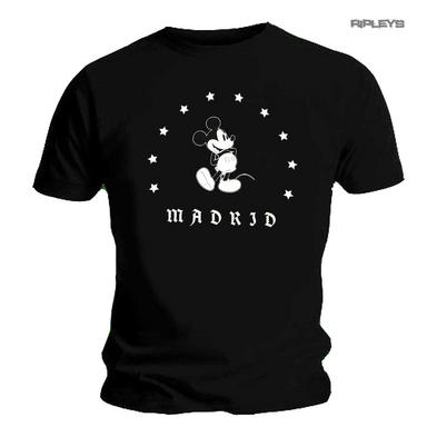 Official Unisex T Shirt DISNEY Mickey Mouse Disneyland MADRID Classic