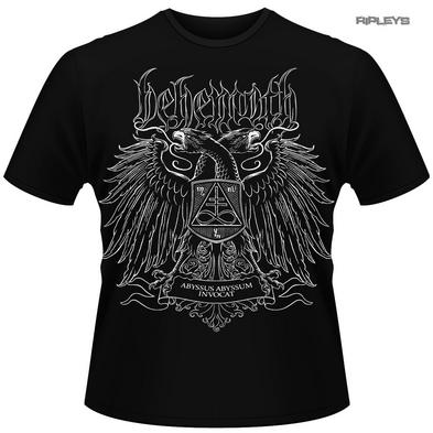 Official T Shirt BEHEMOTH Metal 'Abyssus Abyssum Invocat' Album All Sizes