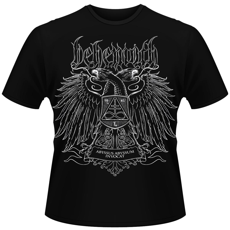 Camiseta-oficial-034-metal-Behemoth-Abyssus-INVOCAT-LTD-034-album-todos-los-tamanos miniatura 3