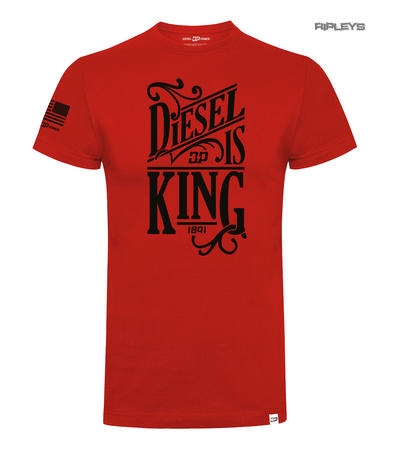 Official DPG T Shirt Diesel Power Gear Red DIESEL IS KING Logo All SIzes Preview