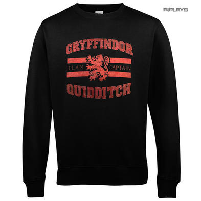 Official Sweatshirt Harry Potter Sweater GRYFFINDOR Quidditch Captain
