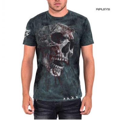 ALCHEMY Gothic Unisex T Shirt Grunge Skull 'Bring Out Your Dead' All Sizes