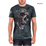 ALCHEMY Gothic Unisex T Shirt Grunge Skull 'Bring Out Your Dead' All Sizes Thumbnail 1