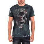 ALCHEMY Gothic Unisex T Shirt Grunge Skull 'Bring Out Your Dead' All Sizes Thumbnail 2