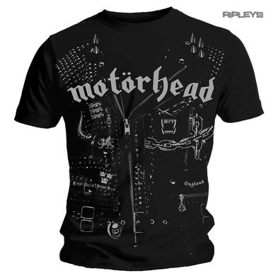 Official T Shirt MOTORHEAD Vintage 'Leather Jacket' Rock Metal All Sizes
