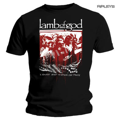 Official T Shirt Lamb of God Legion XX 'Enough Is Enough' Heavy Metal All Sizes