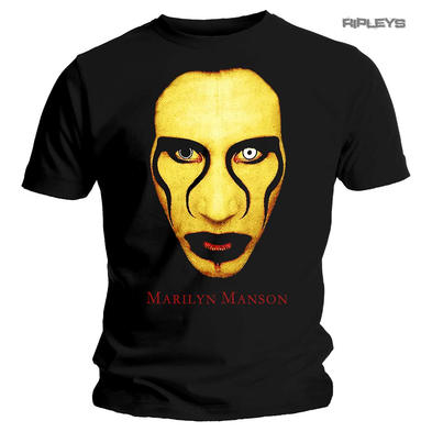 Official T Shirt MARILYN MANSON Red Lips Face 'Sex Is Dead' All Sizes