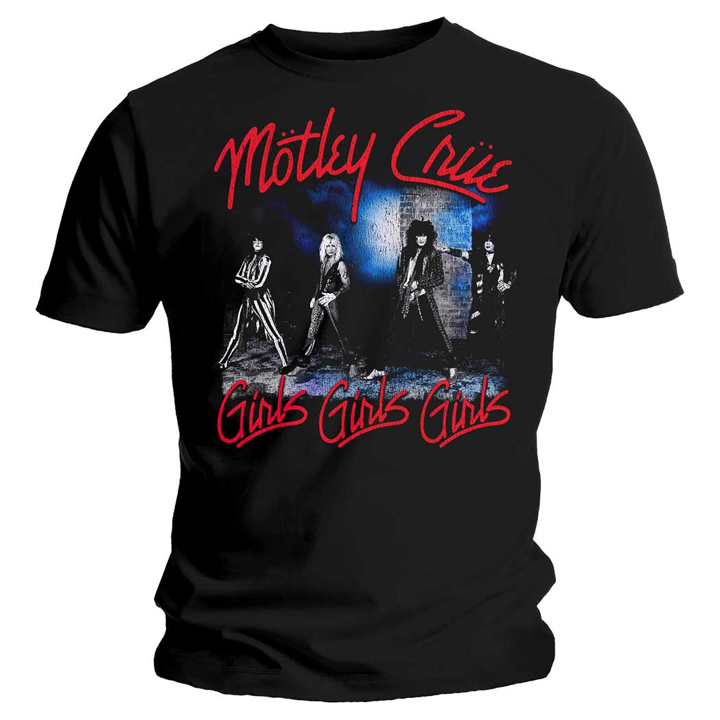 Official-Metal-T-Shirt-MOTLEY-CRUE-Girls-Girls-Girls-039-Smokey-Street-039-All-Sizes thumbnail 7