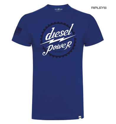 Official DPG T Shirt Diesel Power Gear Blue GEAR HEAD Logo All Sizes