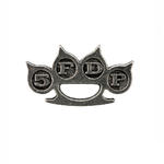 Official Alchemy FIVE FINGER DEATH PUNCH Pewter Pin Badge Classic Logo Gift Thumbnail 2