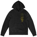 Official Twenty one 21 Pilots Black Hoody Hoodie Pullover FLYER Bandito TRENCH Thumbnail 2