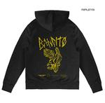 Official Twenty one 21 Pilots Black Hoody Hoodie Pullover FLYER Bandito TRENCH Thumbnail 3