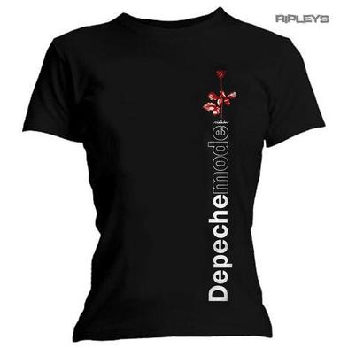 Official Ladies T Shirt DEPECHE MODE Violator Side Rose All Sizes