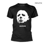 Official Horror T Shirt HALLOWEEN Classic Michael Myers FACE Mask All Sizes Thumbnail 1