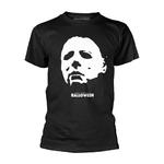 Official Horror T Shirt HALLOWEEN Classic Michael Myers FACE Mask All Sizes Thumbnail 2