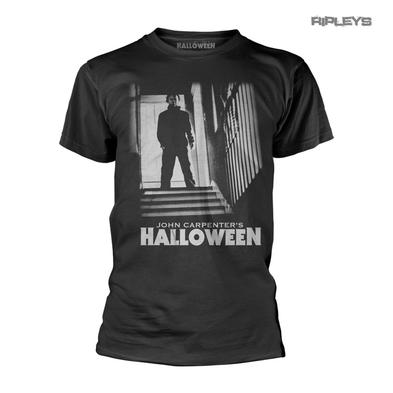 Official Horror T Shirt HALLOWEEN Michael Myers STAIRS John Carpenter All Sizes
