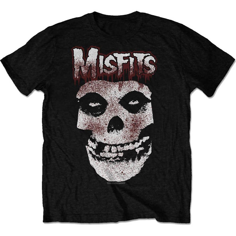 269a7b0a8475 Sentinel Official T Shirt MISFITS Crimson Fiend Skull 'Blood Drip Skull' All  Sizes