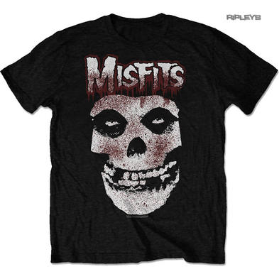 Official T Shirt MISFITS Crimson Fiend Skull 'Blood Drip Skull' All Sizes