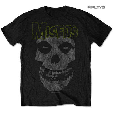 Official T Shirt MISFITS Crimson Fiend Skull  'Vintage Classic' All Sizes
