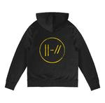 Official Twenty one 21 Pilots Black Hoody Hoodie LOGO HEAVY Trench All Sizes Thumbnail 4