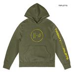 Official Twenty one 21 Pilots Olive Green Hoody Hoodie JUMPSEAL Trench All Sizes Thumbnail 1