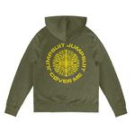Official Twenty one 21 Pilots Olive Green Hoody Hoodie JUMPSEAL Trench All Sizes Thumbnail 4