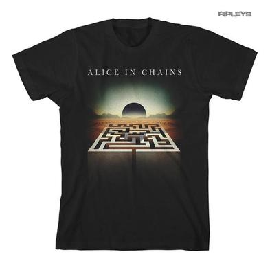 Official T Shirt ALICE IN CHAINS Rainier Fog 'Maze Square' Logo All Sizes