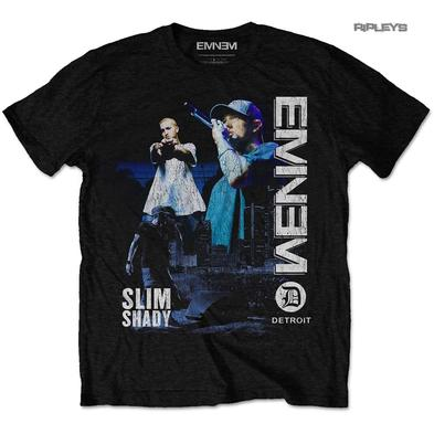 Official T Shirt Slim Shady EMINEM Marshall DETROIT #2 Distressed All Sizes
